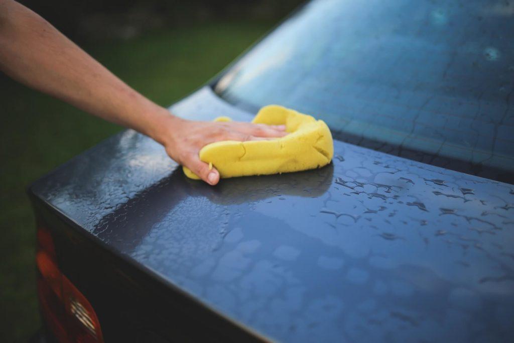 lavaggio auto a secco